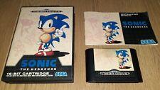 SONIC Mega Drive COMPLETO con MANUAL