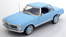 NOREV 1963 Mercedes 230 SL W113 Cabrio Light Blue 1:18 Dealer LE 1000 New*RARE!