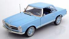 NOREV 1963 Mercedes 230 SL W113 Cabrio Light Blue 1:18 Dealer LE 1000 PCS*New!