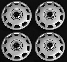 "SET (4pcs) Wheel covers fits FIAT 500 2010 - 2016 POP Abarth 15"" Hubcap Rim NEW"