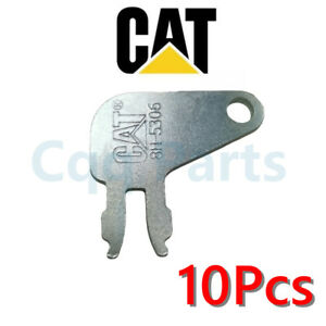 10pcs Master Disconnect Key Heavy Equipment 8398 Replace 8H-5306 for Caterpillar