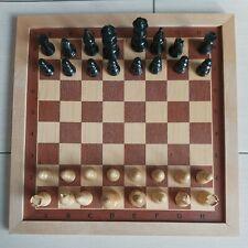 Schach Schachbrett Schachspiel Echtholz 40 x 40 cm