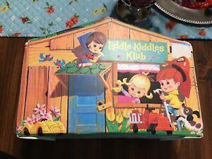 Vintage 1965 Mattel Liddle Kiddles Klub House for Kiddle Dolls! L👀K!