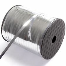 BORDE de la cinta de plata Metálico Satinado Berisfords 3mm 7mm y 15mm 14 Tonos En Venta