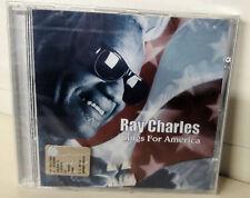 Ray Charles Sings For America Cd Nuovo Sigillato Rhino 20 Tracce
