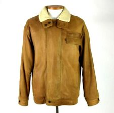 27c25ac9f Bomber/Harrington Brown Leather Vintage Outerwear Coats & Jackets ...
