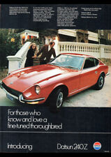 """1969 NISSAN DATSUN 1000 COUPE AD A3 CANVAS PRINT POSTER 16.5""""x11.7"""""""