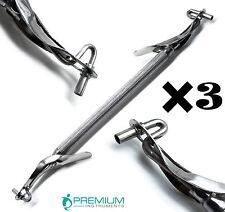 3 Pcs Amalgam Carrier 2mm/3mm Regular/Jumbo Dental Filling Restorative New Tools