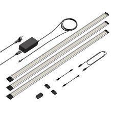 LED Unterbau-Leuchte Siris, Infrarot-Sensor, flach, je 90cm, 800lm, warm-weiß, 3