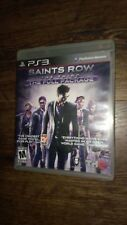 Saints Row: The Third - The Full Package (Sony PlayStation 3, 2012) LN*NO MANUAL