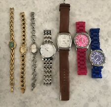 LOT OF 7 WATCHES - GUESS/FOSSIL ++