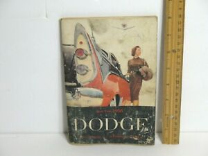 1956 CAR DODGE AUTOMOBILE OWNERS MANUAL ORIGINAL BOOKLET 44 pages