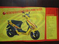 Prospetto ATALA HACKER ROLLER SCOOTER RACING 50 brochure prospetto