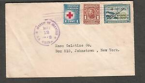 May 1942 WWII cover La Ceiba Honduras to NY