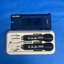 W Lorenz Biomet 50 1000 Microfixation Power Driver Set With Blades Amp Case Nick