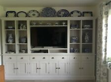 Painted TV Entertainment Unit - 6 drawers and 4 double cupboards