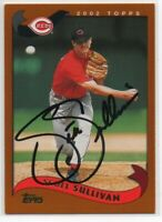 2002 Topps Scott Sullivan #158 Signed IP Auto