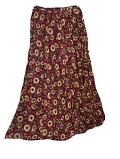 Womens Broomstick Skirt size M