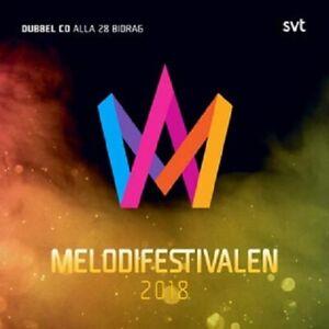 "Various Artists - ""Melodifestivalen 2018"" - CD Double Album - 2018"