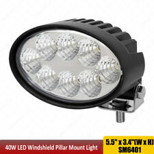 Oval led work light 5.5 inch 40W Flood beam For John Deere Massey Case IH x1pc