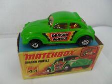 MATCHBOX SUPERFAST 1-75 No 43 DRAGON WHEELS MINT IN EXCELLENT BOX