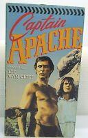 1990 Captain Apache VHS Starring Lee Van Cleef Carroll Baker Stuart Whitman