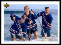1991-92 Upper Deck Doug Weight, Steven Rice, Tony Amonte #440