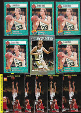 Collection/Lot(11) SI for Kids-LARRY BIRD Cards, Rookie- Boston Celtics HOF