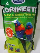 AVIONE lorikeet rearing & conditioning condition dry food 2kg AUSTRALIAN