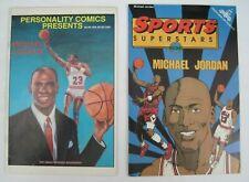 LOT OF (2) MICHAEL JORDAN SPORTS SUPERSTARS / PERSONALITY COMICS