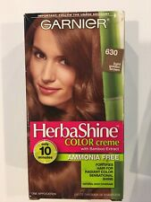 Garnier HerbaShine Color Creme With Bamboo Extract 630 Light Golden Brown Shade