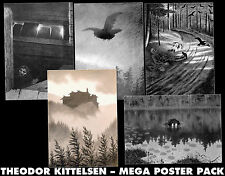 Theodor Kittelsen ++ 5-POSTER-SET, DIN-A1 ++ Nargaroth, Mgla, Agalloch ++ NEU