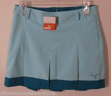 NWT Puma Golf Womens Pleated Tech Skirt 10 Blue Radiance MSRP$70