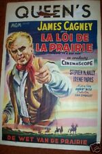 TRIBUTE TO A BAD MAN Movie Poster > ORIGINAL > James Cagney