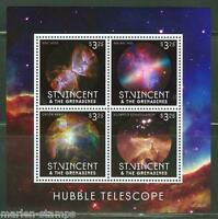 ST. VINCENT GRENADINES  2013 HUBBLE TELESCOPE SHEET MINT NH