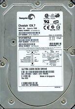 SEAGATE SCSI 73GB ST373207LC P/N: 9X3006-141 F/W: D703