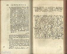 Meinecke: Synopsis Ervditionis; 2 Teile (in 1 Band), mit Leerseiten, 1783,