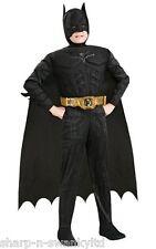 Batman Niños Lujo Pecho Con Músculos De Súper Héroe Día Del Libro Disfraz