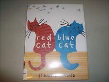 Picture Book RED CAT BLUE CAT by Jenni Desmond FRIENDSHIP JEALOUSY COLOR CATS HC