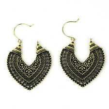 Fashion Women's Boho Ethnic Drop Dangle Vintage Earrings Jewelry Bronze Silver