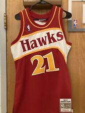 Dominique Wilkins Atlanta Hawks Mitchell & Ness Jersey