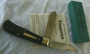 REMINGTON 1989 TWO-BLADE TRAPPER BULLET KNIFE R1128
