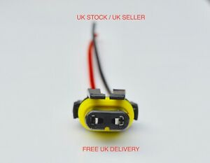 HB3 9006 HB4 Bulb Socket Female Adapter Connector for Headlight Fog Lamp UK