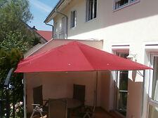 Pavillon Ersatzdach 3x3m Pavillondach Anti-Wassersack rot