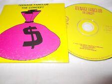 TEENAGE FANCLUB - THE CONCEPT - OZ 2 TRK CD SINGLE - CARD SLEEVE