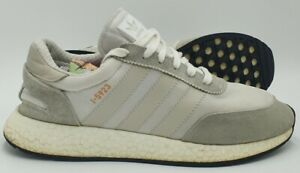 Adidas I-5923 Suede/Nylon Trainers 675001 Grey/Cloud White UK10/US10.5/EU44.5