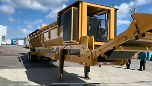 Reconditioned Vermeer TR521 Trommel Screen with Warranty. New Engine
