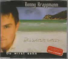 RONNY KRAPPMANN ( SILENT CIRCLE) CD-MAXI WHAT A SHAME