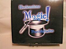 COFFRET JEUX  =  ILLUSION - MAGIE - PRESTIDIGITATION