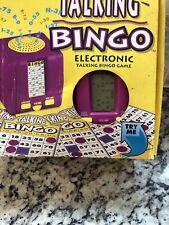 1995 Radica TALKING BINGO Electronic Game - Original Box - Tested & Working FS